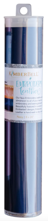 Kimberbell EMBROIDERY LEATHER – NAVY