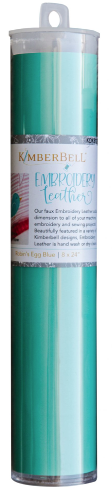 Kimberbell EMBROIDERY LEATHER – ROBIN'S EGG BLUE
