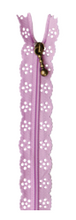Load image into Gallery viewer, Kimberbell LACE ZIPPER (Lavender)