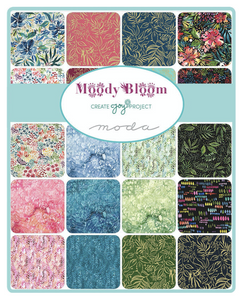 Moody Bloom Jelly Roll by Create Joy Project for Moda Fabrics