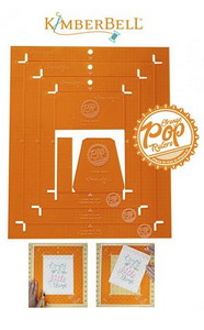 Orange Pop Ruler Rectangle Set by Kimberbell Designs