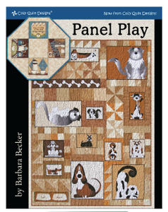 Panel Play by Barbara Becker for Cozy Quilt Designs