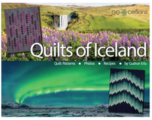 Load image into Gallery viewer, Quilts of Iceland by Gudrun Erla