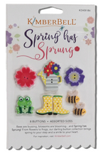 Load image into Gallery viewer, Kimberbell SPRING HAS SPRUNG BUTTONS