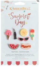 Load image into Gallery viewer, Kimberbell SUMMER DAYS BUTTONS