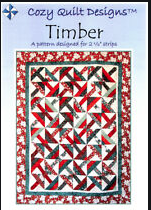 Load image into Gallery viewer, Timber Pattern by Cozy Quilt Designs