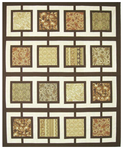 Town Square Pattern by Robert Kauffman