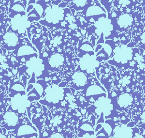 True Colors WILDFLOWER - DELPHINIUM by Tula Pink for Free Spirit Fabrics