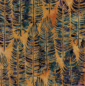 Vertical Feather - Cheddar from Sundance by Island Batik