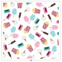 Load image into Gallery viewer, Kimberbell Vintage Boardwalk FUN SNACKS Ultra White