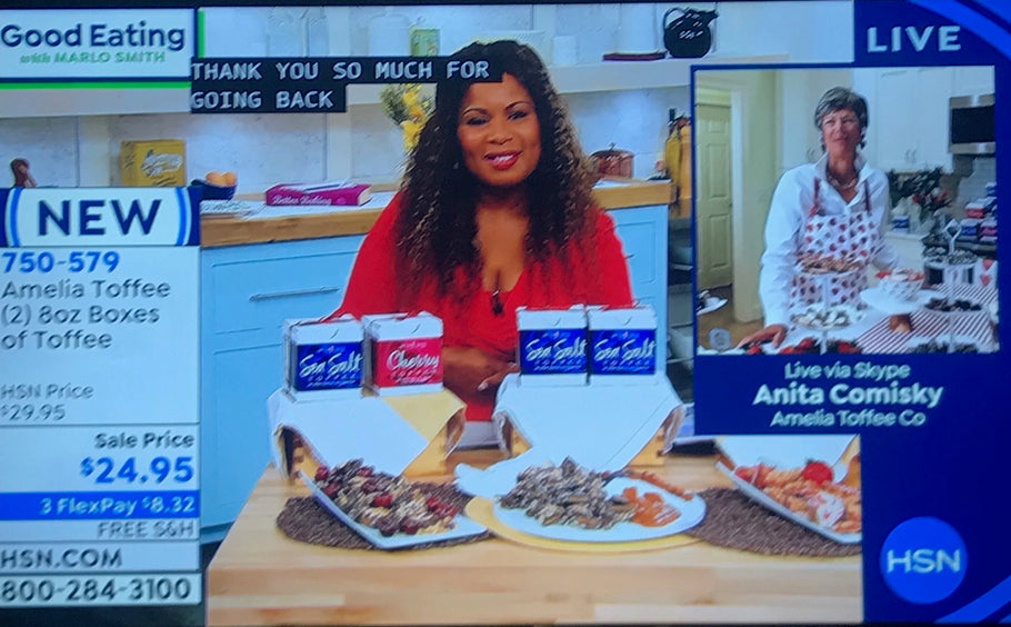 Amelia Toffee Featured on HSN!