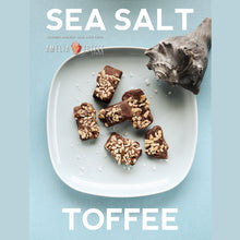 Load image into Gallery viewer, Sea Salt Toffee Family One Pound Kraft Bag