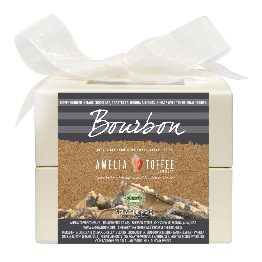Bourbon Toffee 16 oz Box
