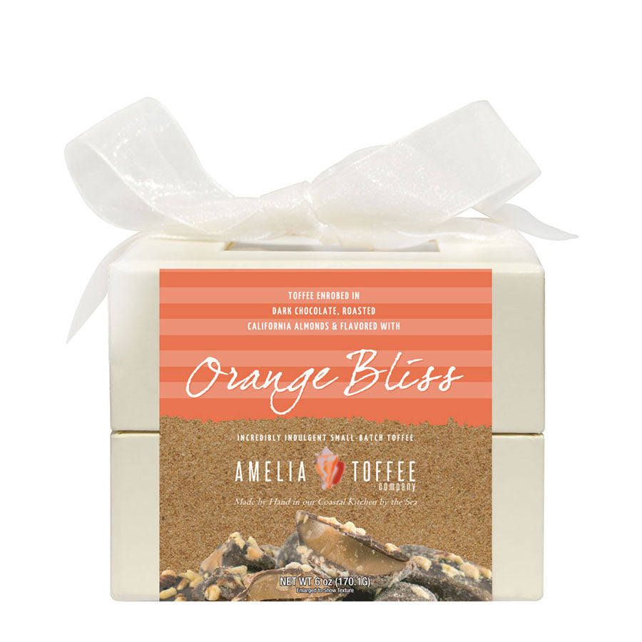 Orange Bliss Toffee 6oz Box