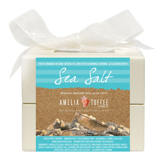 Sea Salt Toffee 16oz Box