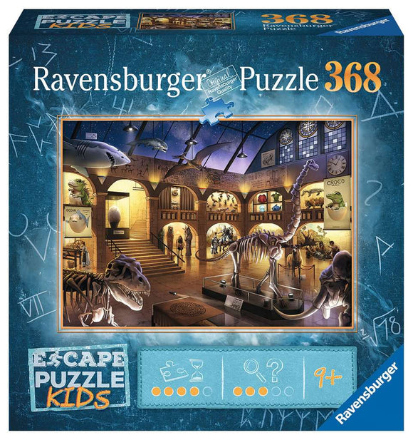 Ravensburger 368pc Escape Puzzle Kids 12935 Museum Mysteries