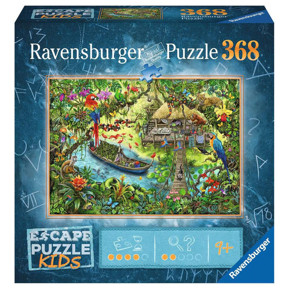 Ravensburger 368pc Escape Puzzle Kids 12934 Jungle Journey