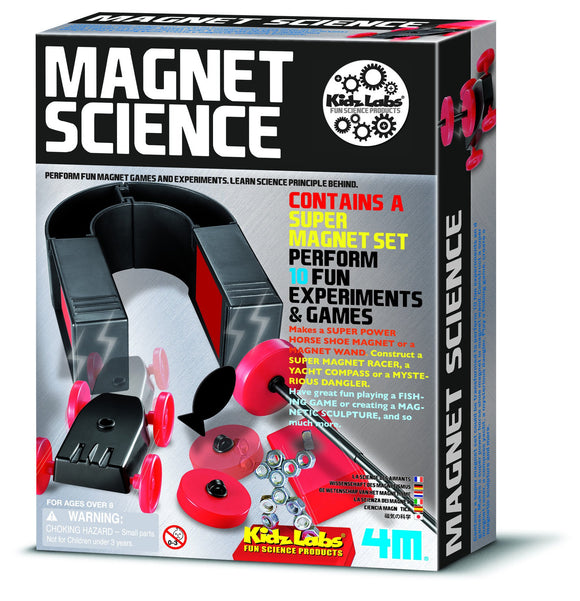 4m 3291 Kidzlabs Magnet Science