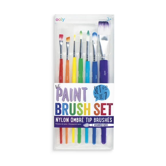 Ooly Lil Paint Brushes 7pk