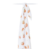 Lulujo Swaddle Blanket Sloth