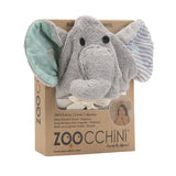 Zoocchini Baby Bath Towel Elle the Elephant