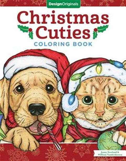Christmas Cuties Coloring Book