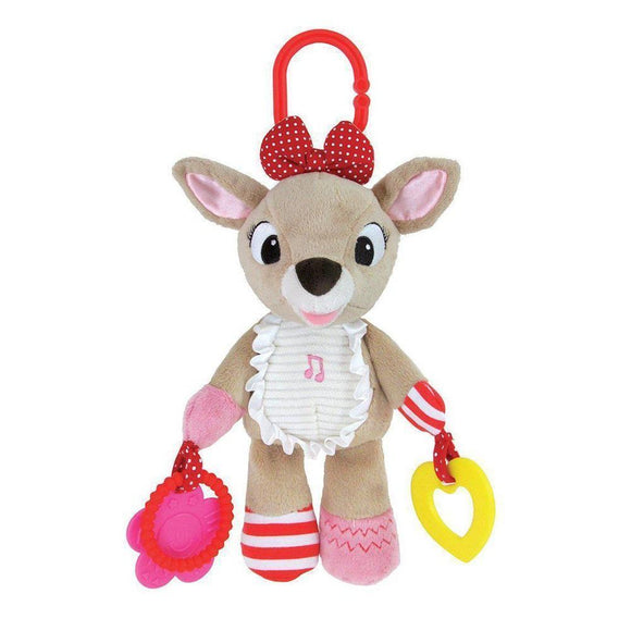 Rudolph the Red-Nosed Reindeer CLARICE On-The-Go Activity Toy