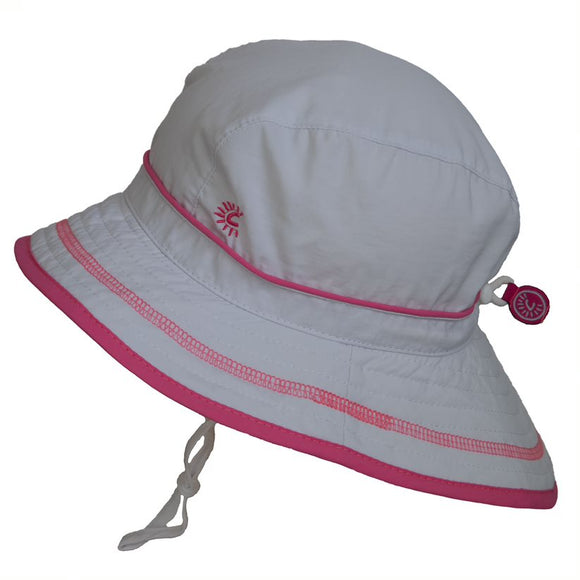 Calikids Sun Hat S1716 UV Beach White