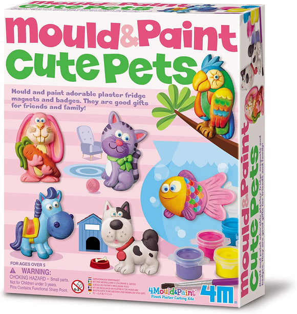 4M 3539 Mould & Paint  Cute Pets