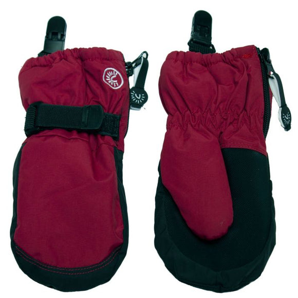 Calikids W0122 Waterproof Mitten with Clips - Cabaret