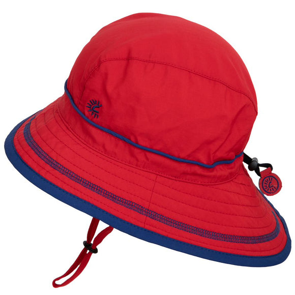Calikids Sun Hat S1716 UV Beach Racy Red