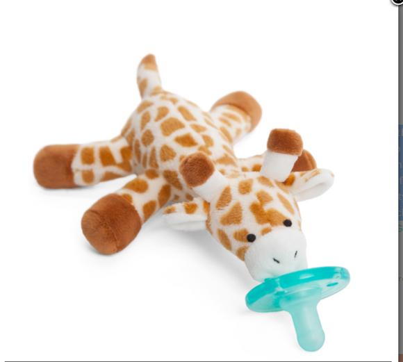 Wubbanub Pacifier holder Baby Giraffe