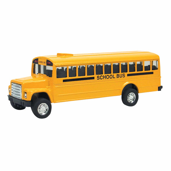 Schylling Diecast Bus, Pull-Back