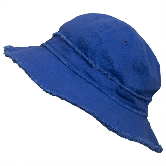 Calikids Sun Hat S2125 Canvas Blue