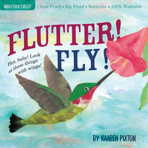 Indestructibles Baby Book Flutter Fly
