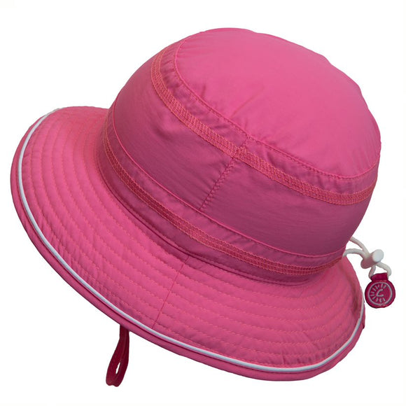 Calikids Sun Hat S2014 UV Bucket Hot Pink