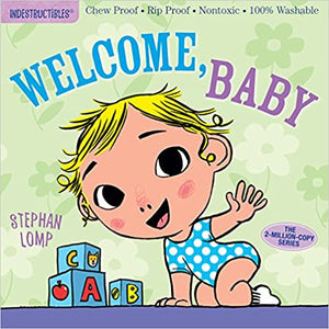 Indestructibles Baby Book Welcome Baby