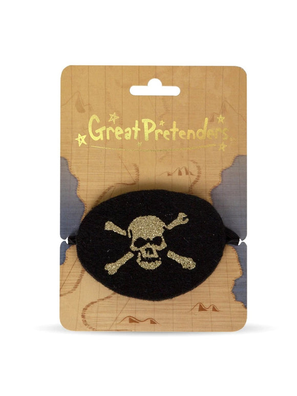 Great Pretenders 14100 Pirate Eye Patch