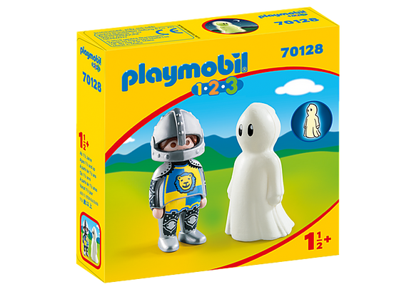 Playmobil 123, 70128 Knight with Ghost