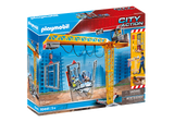 Playmobil 70441 City Action Construction RC Crane with Building Section