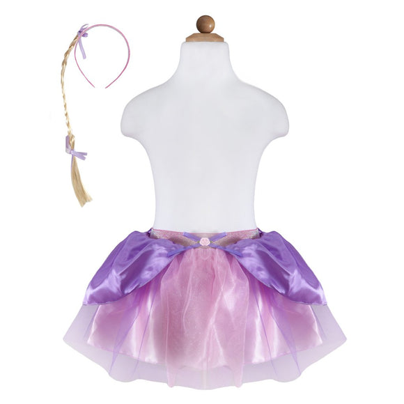 Great Pretenders 41435 Rapunzel Skirt w/Braid