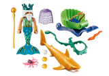 Playmobil 70097 Magic Mermaid King of the Sea with Shark Carriage