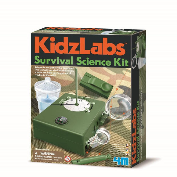 4m 3395 KidzLabs Survival Science