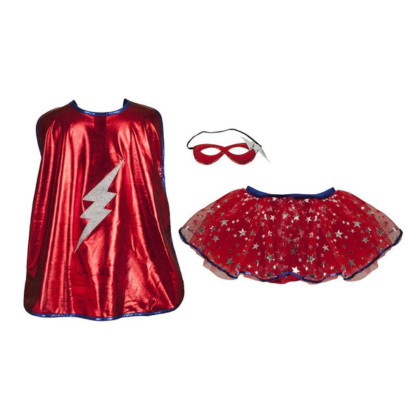 Great Pretenders 67675 Superhero Tutu/Cape/Mask