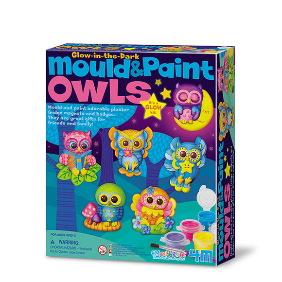 4m 4654 Mould & Paint/Owls