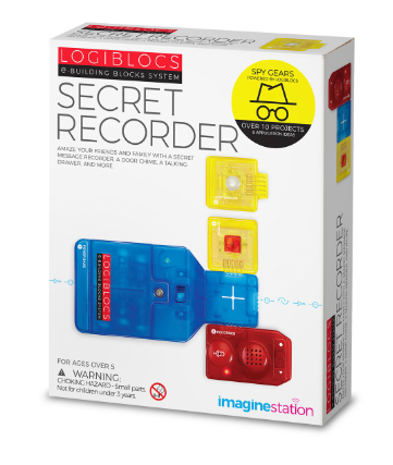 4m 6808 Logiblocs Secret Recorder