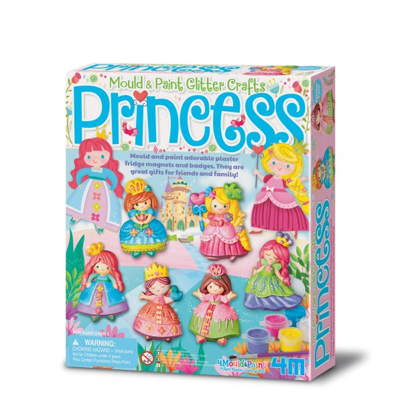 4m 3528 Mould & Paint Glitter Princess
