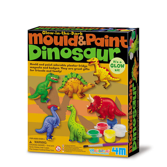 4m 3514 Mould & Paint/Dinosaur