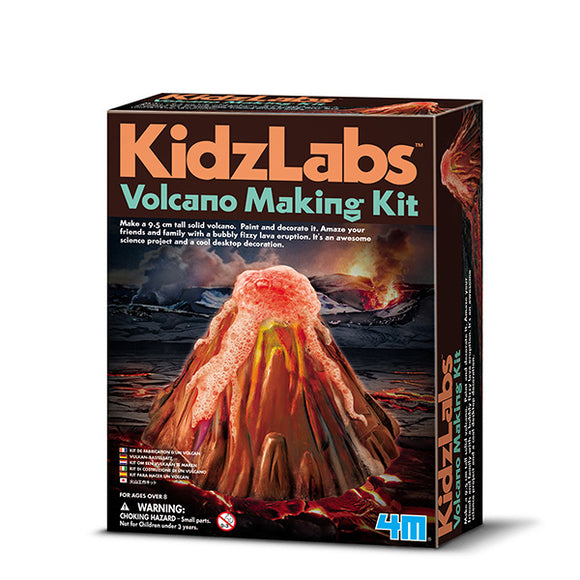 4m 3230 KidzLabs Volcano Making Kit