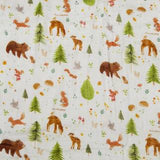 Loulou Lollipop Quilt Blanket - Forest Friends